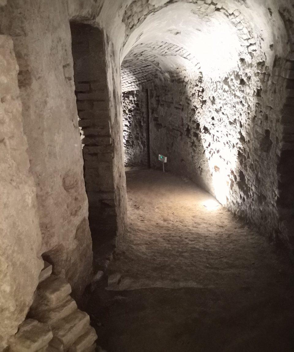 Gallerie Sotterranee Torino - L'area archeologica